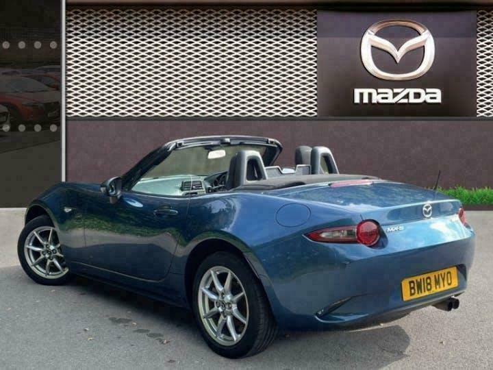 2018 Mazda MX 5 1.5 Skyactiv G Se Convertible 2dr Petrol Manual 131 Ps Convertib
