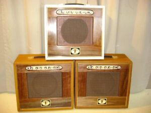 Custom built -all tube- guitar amplifiers