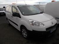 Peugeot Partner 850 Se 1.6 E-Hdi 92 Van DIESEL MANUAL WHITE (2014)