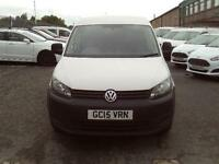 Volkswagen Caddy 1.6TDI 75ps Startline DIESEL MANUAL WHITE (2015)