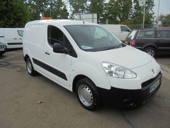 12eaef4e9f Peugeot Partner L1 850 S 1.6 Hdi 92 Van SLD DIESEL MANUAL WHITE (2012)