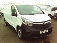Vauxhall Vivaro 2900 2.0 CDTI 115PS DIESEL MANUAL WHITE (2015)
