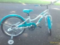 "Girls Bike - Size 20"" - Excellent condition - immediate sale"