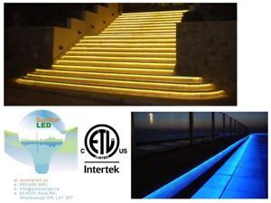 Waterproof Outdoor LED Rope Light!LED Strip Light!Plug in!ETL!