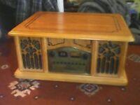 Rhetro Music Centre solid wood
