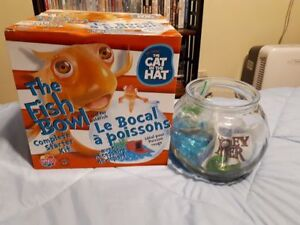 Cat in the Hat Fish Bowl Starter Kit