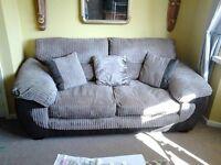 jumbo cord 2 seater sofa