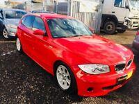 2005 BMW 1 Series 120d **FRESH MOT**WARRANTED MILEAGE**AUX INPUT**SER HIST**PARTS & LABOR WARRANTY