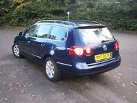 VW Passat estate May 2007
