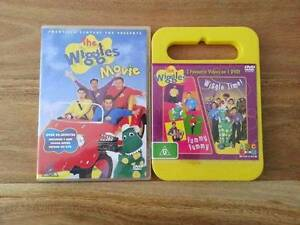 THE WIGGLES DVD X 2 Richmond Yarra Area Preview