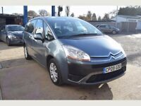Citroen Grand C4 Picasso 1.6 VTi 16v LX 5dr, 6 MONTHS FREE WARRANTY, One Owner