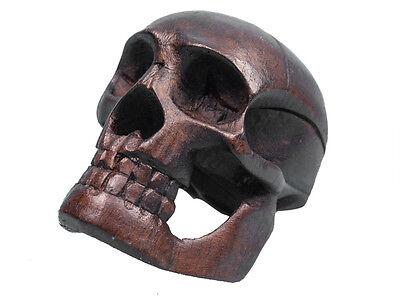 Wooden Skull 1170-S-AS