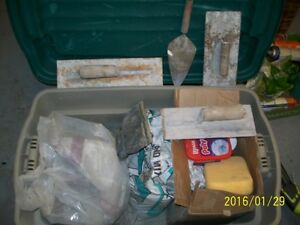 Plaster, Cement, Trowels