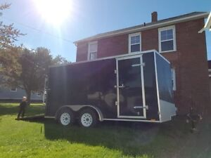 Used once. 2018 7x14 trailer OBO