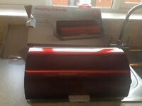 Russell Hobbs Ruby Red Breadbin Used But Have Original Box