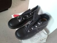 Black Lemaitre Safety Boots Size 9 (43)
