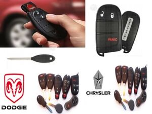 DODGE CHRYSLER JEEP RAM KEY, COPY, CUTTING PROGRAMMING