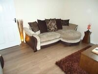 Modern fully-furnished and spacious two bedroom second floor flat(maisonette) available for rent.