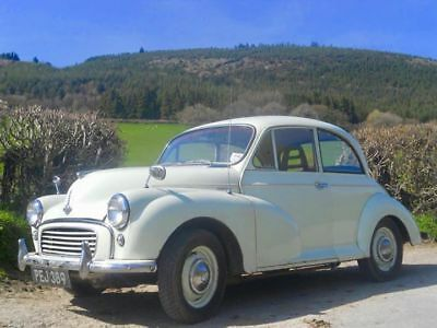 Morris Minor Classic car, 1963, 2 door saloon