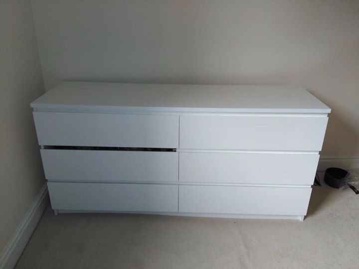 Ikea Malm 6 Drawer Dresser In Liverpool Merseyside Gumtree