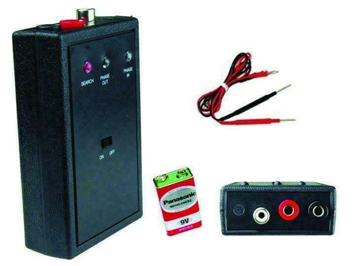 Polarity Phase Tester for Speakers tweeters midranges subwoofer NTPHASE