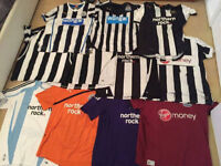 Newcastle United Shirts - Some RARE - Collectors Must Have.