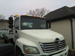 2008 HINO TOW TRUCK ROLLBACK CAR CARRIER