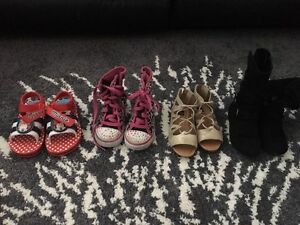 Size 9 Girls shoes bundle Wattle Grove Liverpool Area Preview