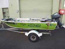10ft Tinny, 8hp Yamaha, trailer Coffs Harbour Coffs Harbour City Preview