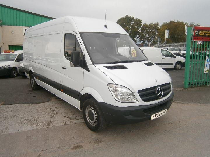 Mercedes-Benz Sprinter 313cdi lwb High Roof 130ps DIESEL MANUAL WHITE (2013)
