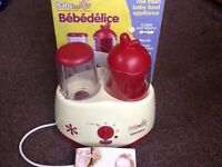 Fresh Baby food preparation devise / appliance