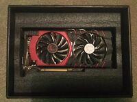 MSI NVIDIA GTX 960 GAMING 2GB With Box And Original Packaging