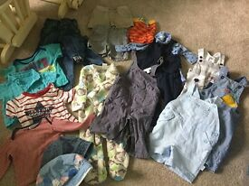Baby boy clothes bundle, 6-9 months