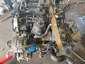 PEUGEOT 307 2.0 HDI ENGINE COMPLETE,GEARBOX,ETC