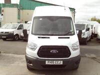 Ford Transit T350 L3 H3 125ps DIESEL MANUAL WHITE (2015)
