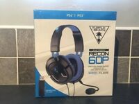 Turtle beach recon 60p ps3 & ps4 gaming headset