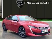 2019 Peugeot 508 2.0 Bluehdi Gt Line Fastback 5dr Diesel Eat s/s 160 Ps Auto Hat