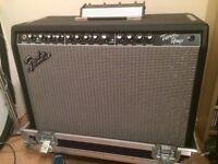 Fender Protube Twin - Mint, with as new, full tour case flightcase.