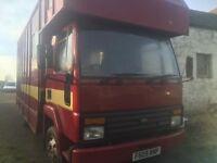 7.5 ton Horse Box Truck