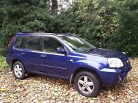NISSAN X TRAIL DCI SPORT WITH MANY EXTRAS FSH 1 YEAR MOT BARGAIN PRICE