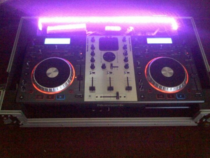"DJ TurnTable LED Kit RGB Multi-Color cuttable 36"" 3ft Pro Audio Technics Gemini"