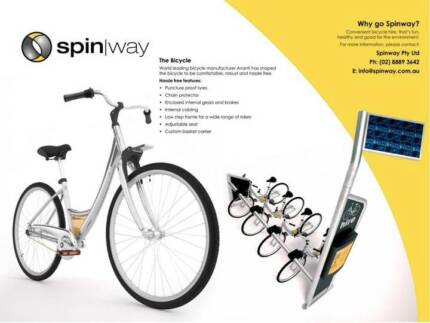 New – Bicycle Hire Vending Machines North Ward Townsville City Preview