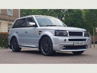 Land Rover Range Rover Sport 2.7 TD V6 HSE SUV 5dr Diesel Automatic((W.MILEAGE+SAT NAV+9M MOT))