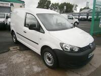Volkswagen Caddy 1.6TDI 102ps DIESEL MANUAL WHITE (2012)