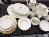 Royal Doulton Gold Concord 6 place-setting dinner service