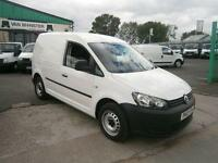 Volkswagen Caddy 1.6TDI 102ps Van DIESEL MANUAL WHITE (2012)