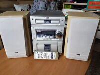 jvc stereo - cd/fm/cd