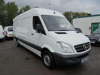 Mercedes-Benz Sprinter 313 CDI 3.5T Van H/Roof DIESEL MANUAL WHITE (2013)