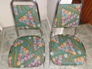 Retro Billiard Chairs