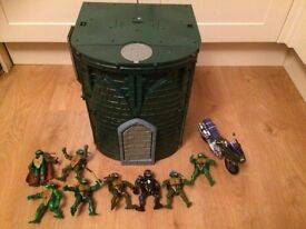 tmnt sewer playset and figures collection gorleston
